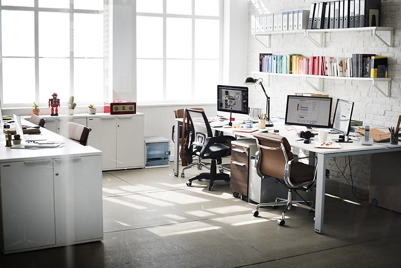 Rozwiązania 10 calowe w biurze