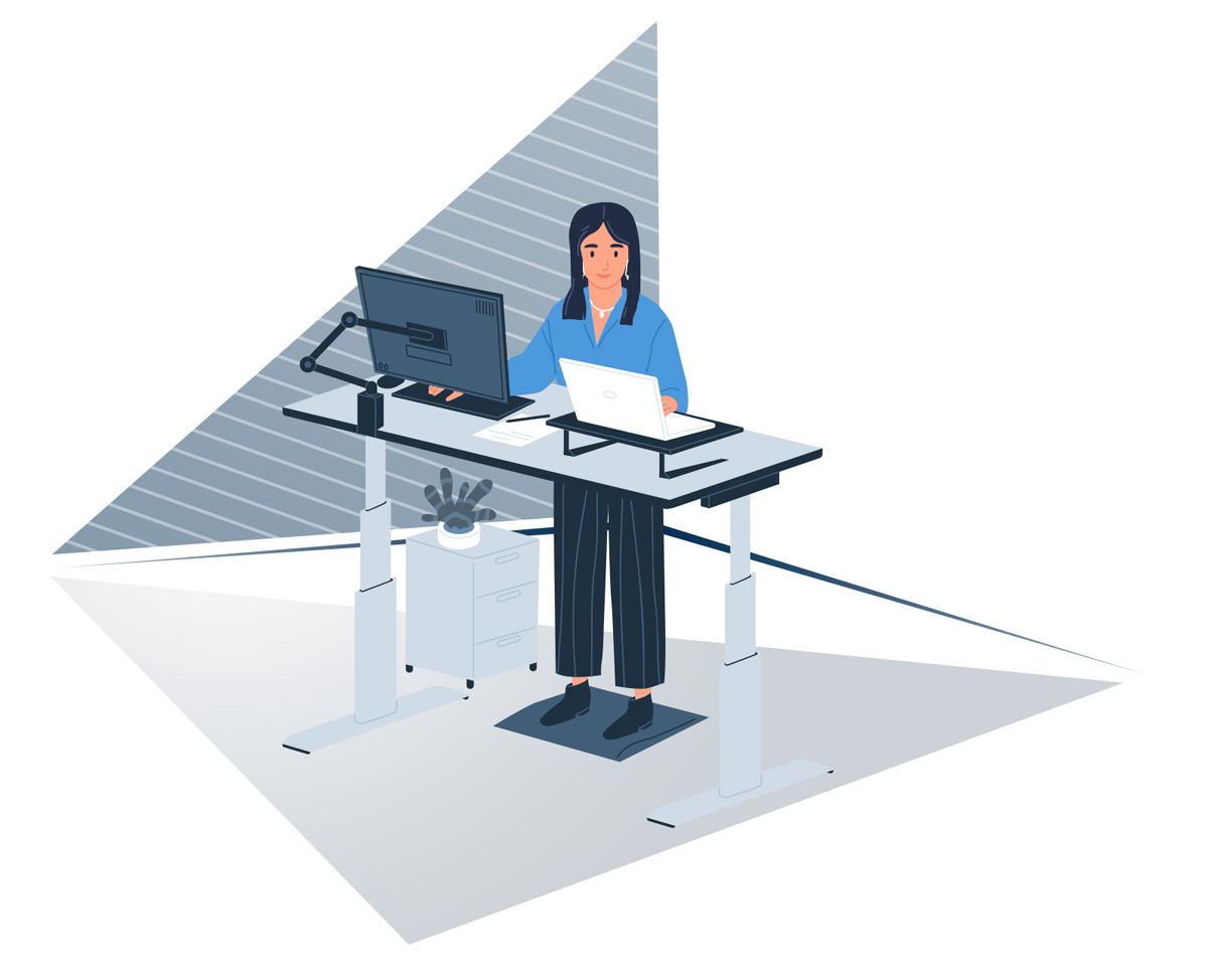 Home Office - Praca stojąca