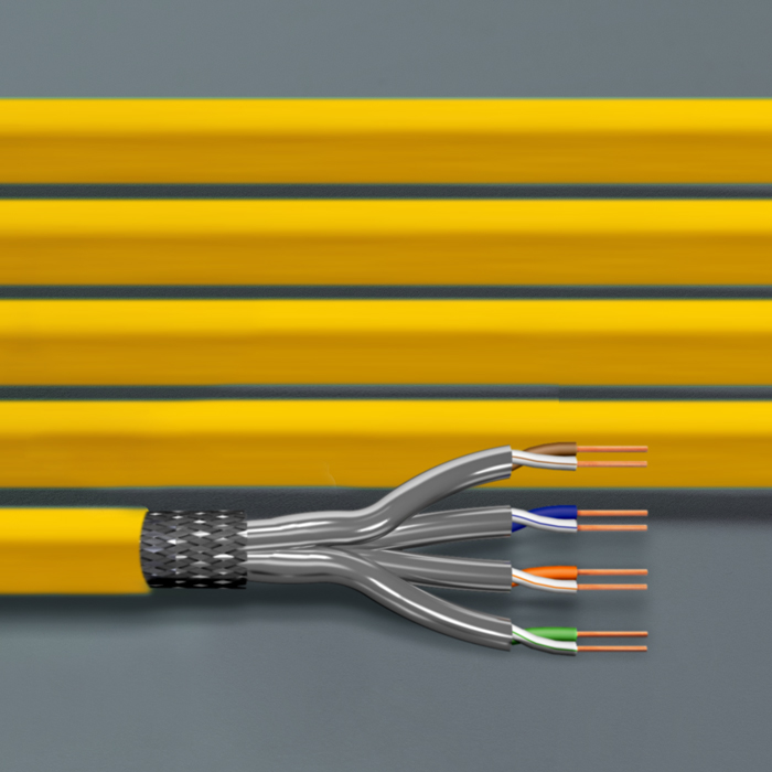 Kabel instalacyjny kat. 7A