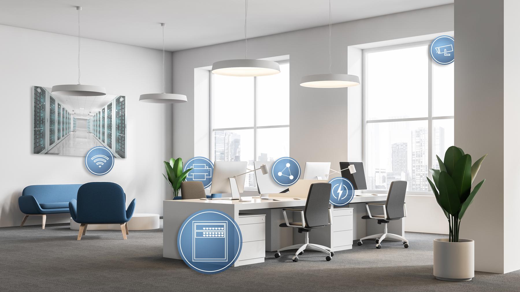 Profesjonalne sieci w prywatnych domach i małych biurach